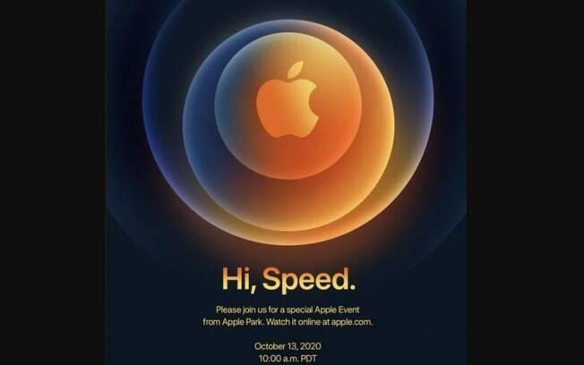 Apple marca evento para lançar a linha iPhone 12