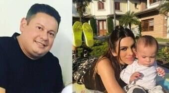 Marcos Araújo é o pai do filho caçula de Pétala, mostra DNA