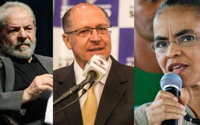 Lula, Geraldo Alckmin e Marina Silva são alguns dos candidatos à Presidência que devem ser oficializados neste sábado