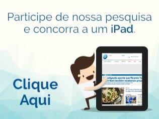 Responda e concorra a um iPad