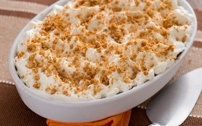 A paçoca gelada é um dos jeitos de reinventar o prato típico de festa junina. Aprenda a fazer essa receita