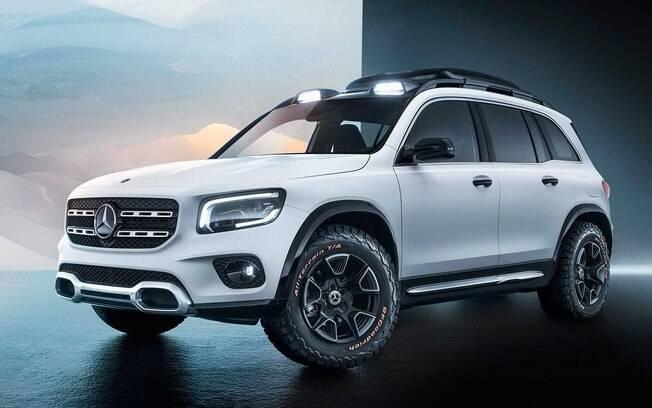 O Mercedes-Benz GLB surge no Salão de Xangai 2019 para preencher a lacuna que existe entre GLA e GLC