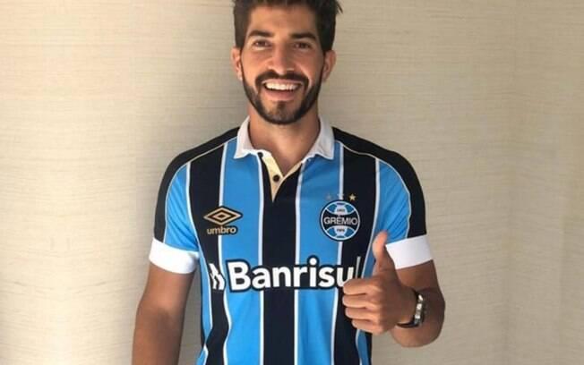 Lucas Silva é o novo reforço do Grêmio