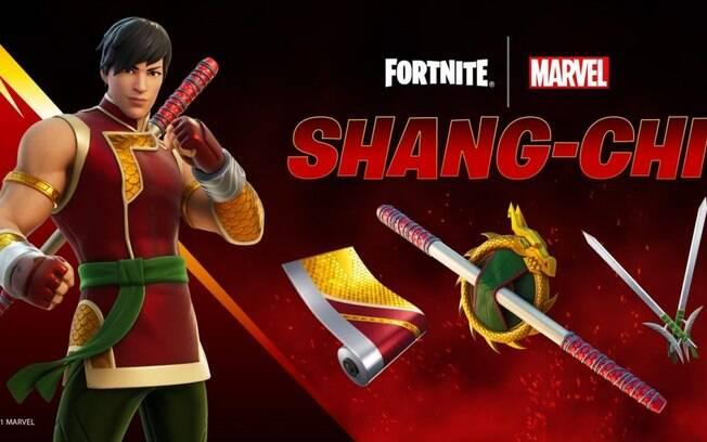 Shang-Chi fica disponível em Fortnite