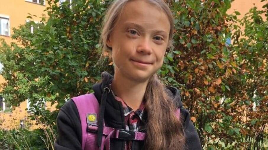 Greta Thunberg criticou corte de verbas do Brasil na área do meio ambiente