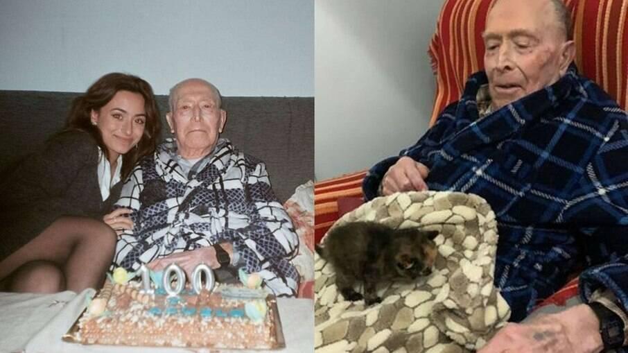 Manuel completou 100 anos e ganhou um presente mais do que especial