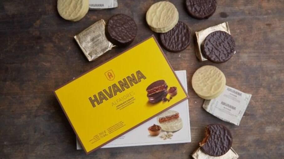 Os doces da Havanna são perfeitos!