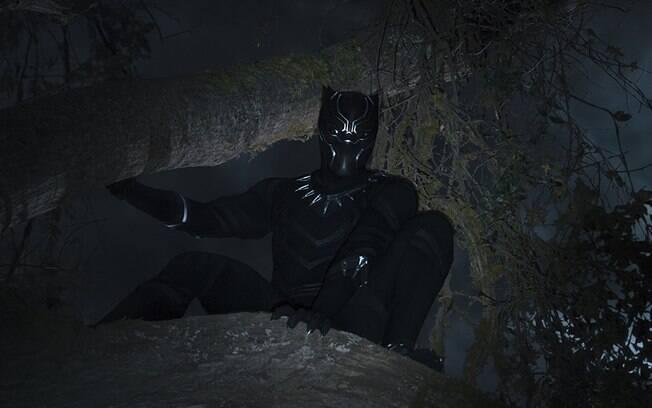 Cena de Pantera Negra, que estreia nos cinemas nesta quinta-feira (15)