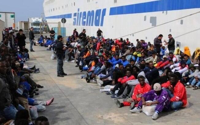 De 2013 para 2014, o número de imigrantes fazendo a travessia praticamente quadruplicou
