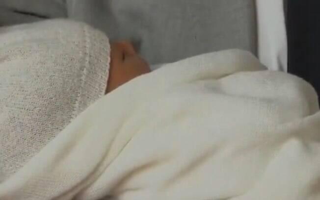 Bebê real ainda não recebeu um nome e nem um título