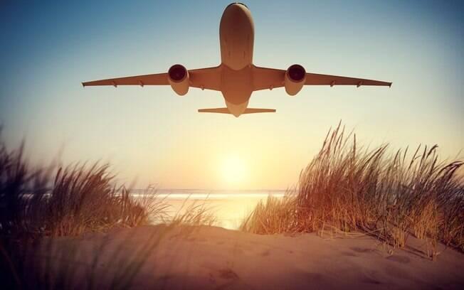 aviao passagem aérea
