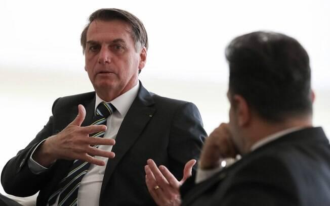 Bolsonaro não perdeu a chance de provocar Lula em entrevista