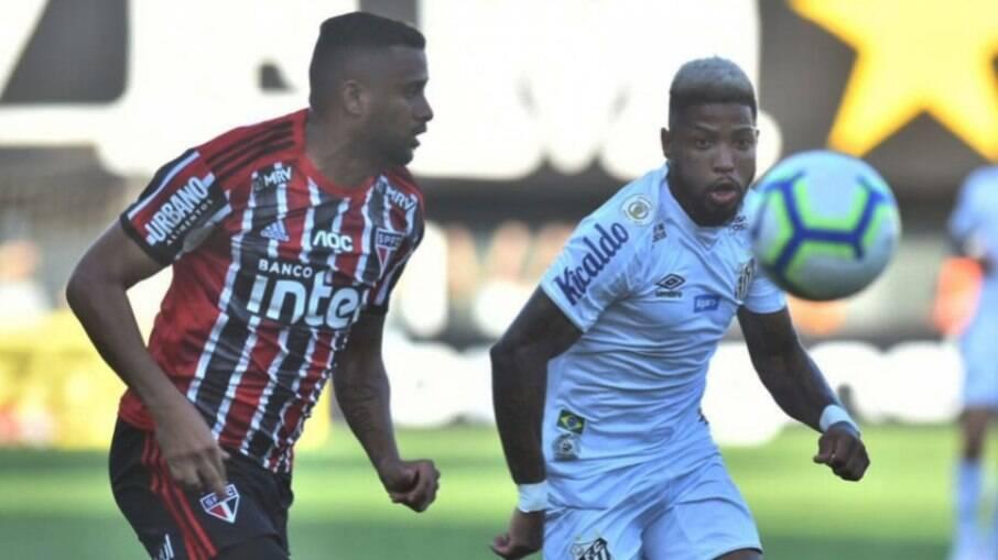Santos recebe o São Paulo pelo Brasileirão