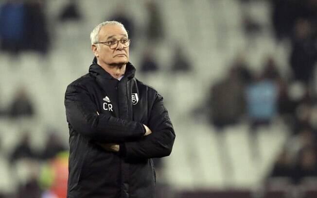 Claudio Ranieri assumiu o Fulham em novembro do ano passado