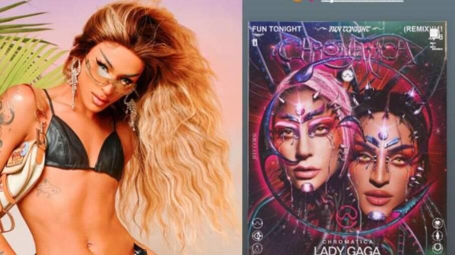 Lady Gaga marca Pabllo Vittar em publicação