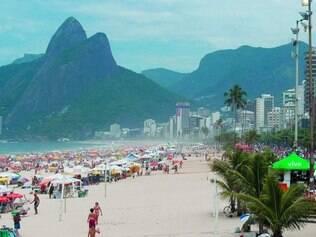 """Cartão postal. Música """"Garota de Ipanema"""", de Vinícius de Moraes e Tom Jobim, tornou praia do Rio de Janeiro conhecida no mundo todo"""