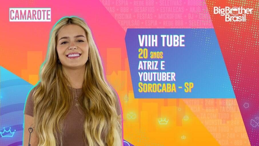 A youtuber Viih Tube está confirmada no 'BBB 21'