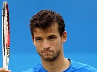 Dimitrov teve trabalho para vencer o número 1032 do ranking mundial