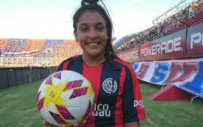 Rocio Correa, jogadora do San Lorenzo