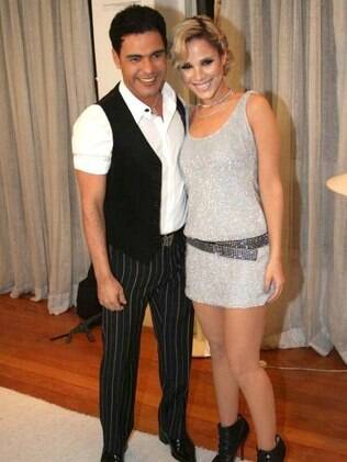 Wanessa e o pai, Zezé, em 2009: memórias do primeiro Natal passado de volta em Goiás