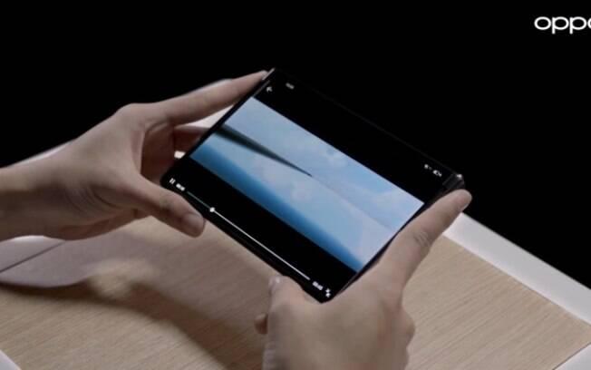 Vídeo mostra modelo da Oppo