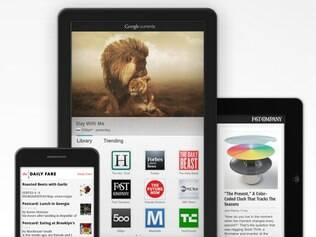 Google Currents permite acessar notícias e outros conteúdos por meio do smartphone ou tablet
