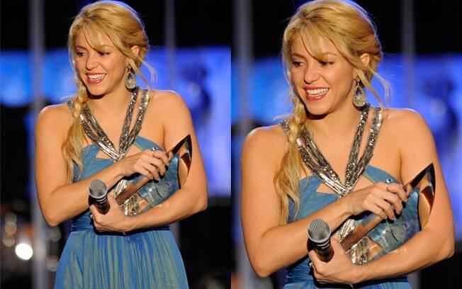 Shakira: um dia após ganhar a estrela na calçada da fama, cantora é eleita a Pessoa do Ano
