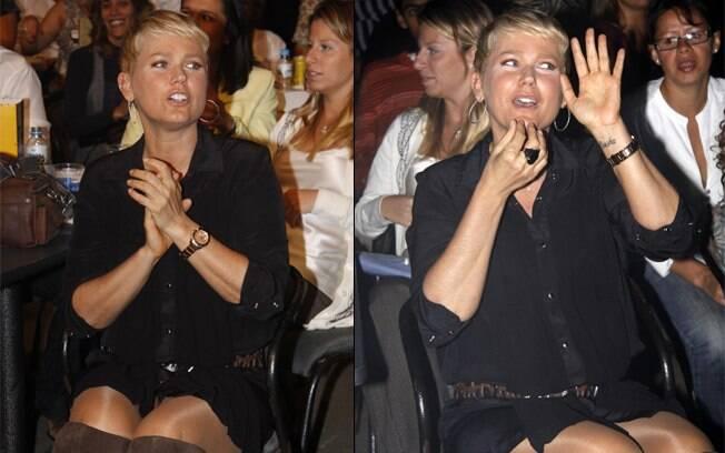 Xuxa: repertório na ponta da língua