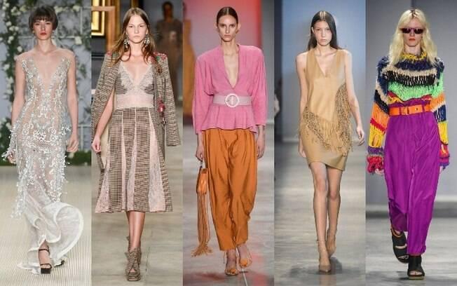 Samuel Cirnansck, PatBo, Lilly Sarti, Modem e TOP 5 apresentaram coleções com peças elegantes e diversificadas