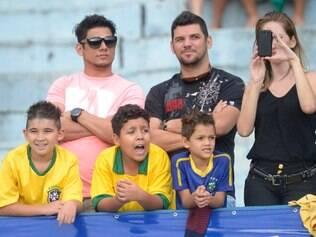 Torcida de Goiânia está empolgada com a seleção brasileira