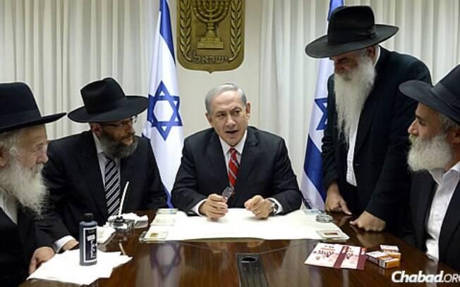 Primeiro Ministro Benjamin Netanyahu