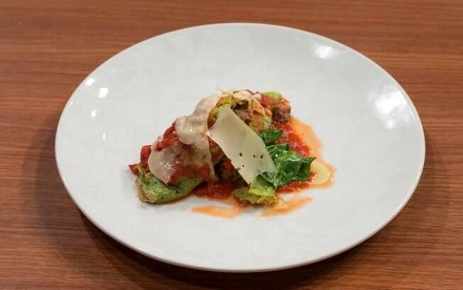 Panqueca de espinafre com carne: receita campe do MasterChef 2020