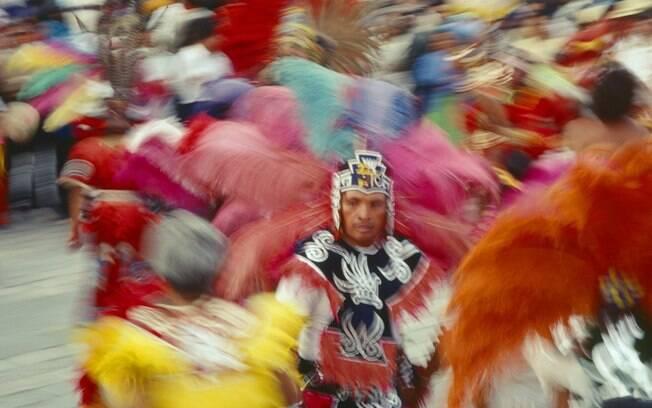 Apresentação típica do Dia de Nossa Senhora de Guadalupe, comemorado em 12 de dezembro