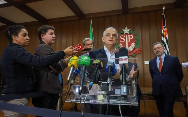 Governador de São Paulo, Márcio França tem feito uma série de reuniões com lideranças de caminhoneiros