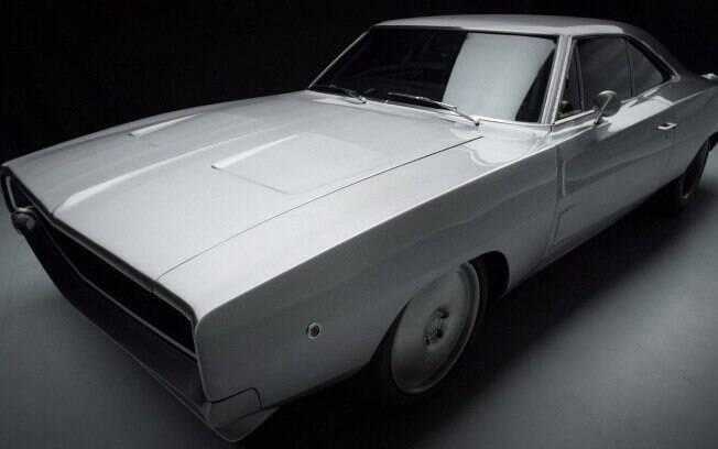 Dodge Charger de Dominic Toretto (Vin Diesel) é um verdadeiro carro de corrida, sem pintura