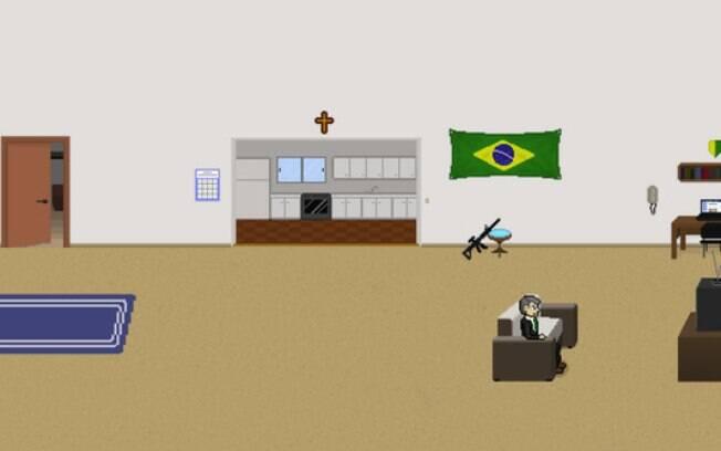 Jogo com Bolsonaro traz a presidente Dilma Rousseff como uma das inimigas do candidato