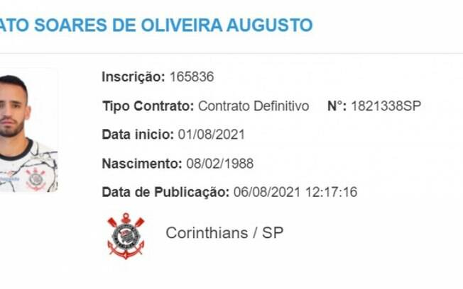 Renato Augusto pode reestrear pelo Corinthians