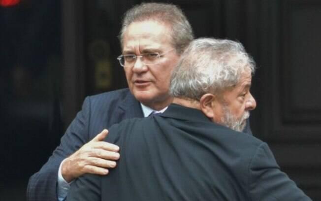 Lula e Renan foram bastante citados na delação do senador petista Delcídio do Amaral