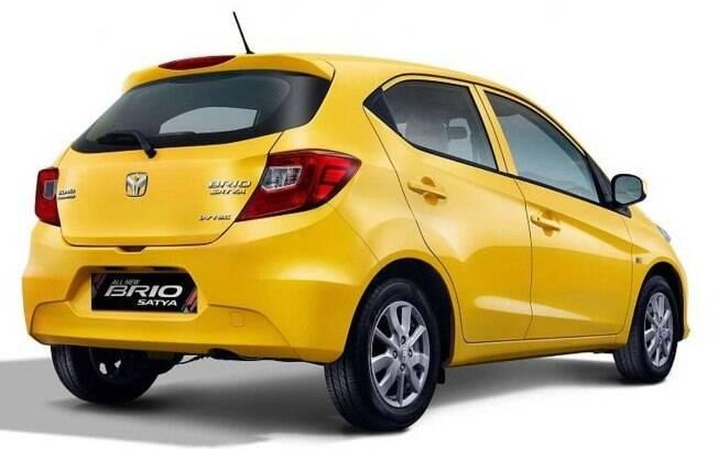 O novo Honda Brio foi registrado no Brasil no ano passado, mas seu lançamento é improvável