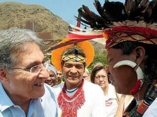 Pimentel recebeu lista com as reivindicações de grupos indígenas de Minas Gerais