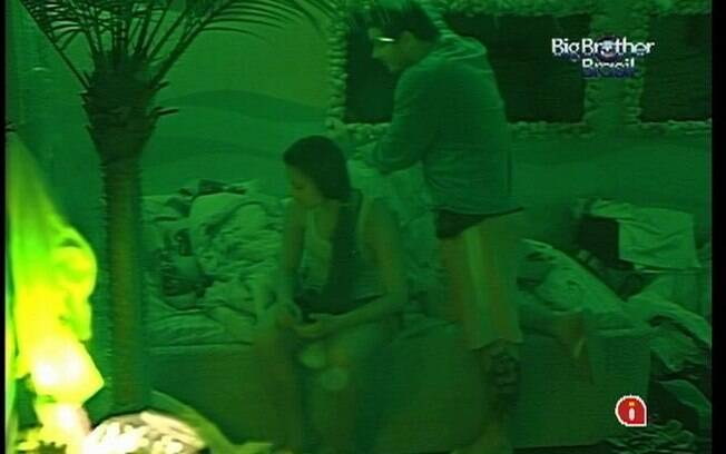 Rafa e Kelly consolam João Carvalho