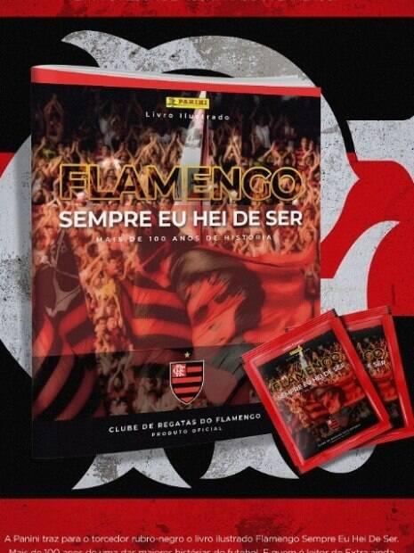 álbum de figurinhas do flamengo
