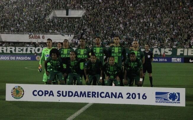 A Conmebol declarou a Chapecoense como a campeã da Copa Sul-Americana de 2016