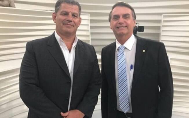 Gustavo Bebianno era um dos homens de confiança de Bolsonaro
