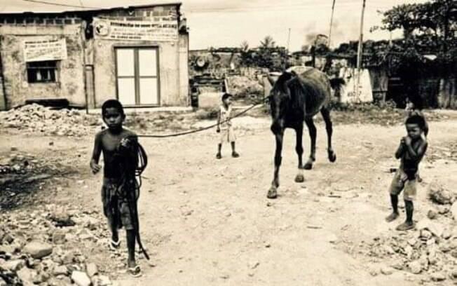 Geraldo viveu seus primeiros anos de vida com os pais e os irmãos na roça, em Minas Gerais