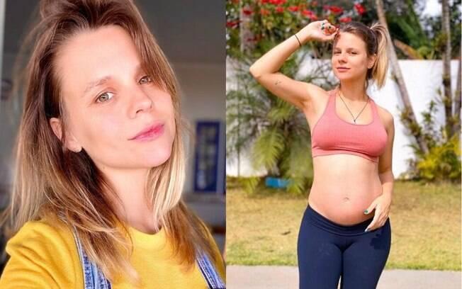 Daniela Carvalho voltou ao Brasil porque está grávida