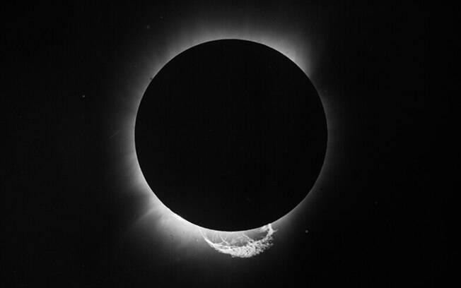 A fotografia do eclipse solar total de 1919 que confirmou a Teoria da Relatividade de Einstein.