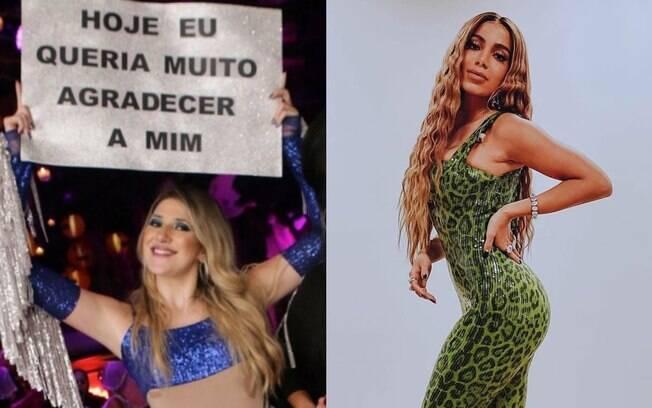 Anitta manifesta apoio a Dani Calabresa relembrand