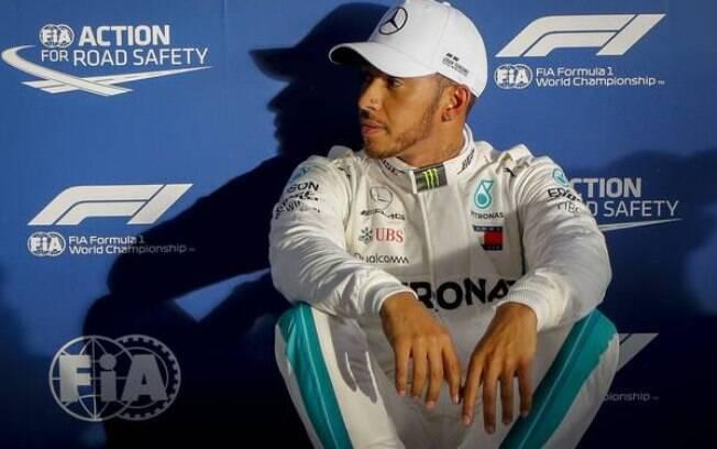 Tetracampeão da Fórmula 1, Lewis Hamilton renovou com a Mercedes até 2020