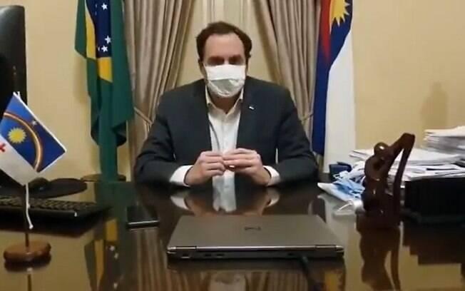Governador fez anúncio na noite da segunda-feira (18)